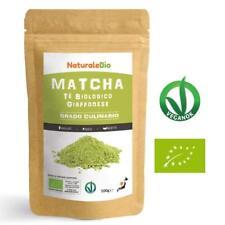 Tè Verde Matcha Biologico in Polvere GRADO CULINARIO da 100gr, Made in Giappone