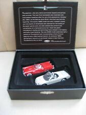 Ford Thunderbird 50th Anniversary Limited Edition Set Of 2 Car Ornaments - Nib