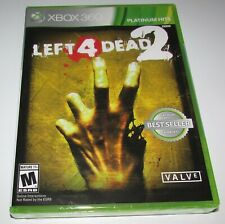 Left 4 Dead 2 for Xbox 360 Brand New! Factory Sealed!