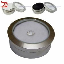Jewelry Holder Display Foam Stainless Steel Gem Rhinestone Diamond Storage Box