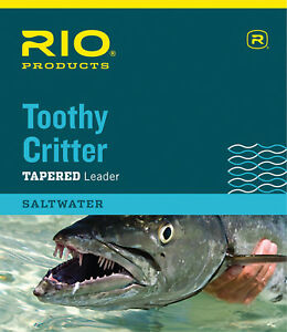 RIO Toothy Critter Wire Leader with Snap Link