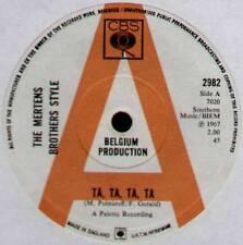 "MERTENS BROTHERS STYLE ~ TA, TA, TA, TA / 3/4 BEAT ~ 1967 UK ""PROMO"" 7"" SINGLE"