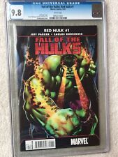 Fall of the Hulks: Red Hulk #1 Marvel Mar 2010 CGC 9.8 White Pages