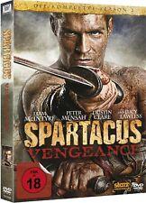 SPARTACUS: VENGEANCE, Die komplette Season 2 (4 DVDs + Schuber) NEU+OVP