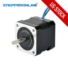 Nema 17 Stepper Motor 45Ncm(64oz.in) 2A 42x42x40mm 4-wire w/1m Cable & Connector