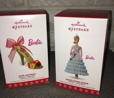 Lot Hallmark Ornaments 2017 Barbie Homecoming Dance Shoe-Sational LE NEW