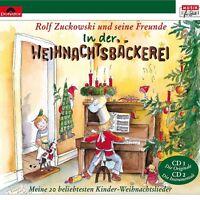 ROLF ZUCKOWSKI UND SEINE FREUNDE - IN DER WEIHNACHTSBÄCKEREI  2 CD  NEU