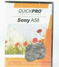Sony A58 Camera Guide DVD by QuickPro (82 minute Tutorial DVD) Sealed #MAP-1741