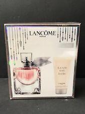 Lancome La Vie Est Belle EDP 50ml + Body Lotion 50ml Set 100% Original Sealed