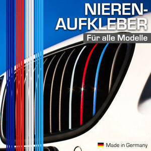 Nierenaufkleber für BMW Autos Dunkelblau Rot Weiß Hellblau Nieren Aufkleber