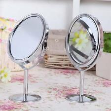 Great-Mirror Magnification Tabletop Vanity Table Round Mirror Two-Sided Makeup~T