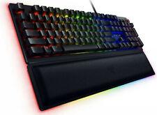 Razer Huntsman Elite Opto-Mechanical Switch Keyboard with Wrist Rest - Black...