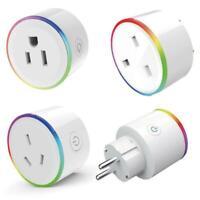 Mini Wifi Smart Plug Steckdosen Schalter Timer Outlet Lichter Alexa Startseite