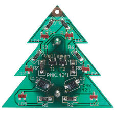 SMD Christmas Tree Velleman Electronics Kit Xmas LED Badge Brooch Pendant