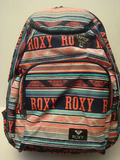 ROXY SHADOW SWELL BRIGHT WHITE AX  BOHEME  BORDER SCHOOL BACKPACK/LAPTOP NWT