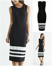 Oasis Striped Sleeveless Dresses for Women
