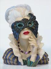 "Cameo Girls Head Vase Abigail 1780 ""Masquerade"" MIB FREE SHIPPING"