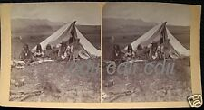 Ute Indian Colorado Native American Stereoview Photo CO cdii