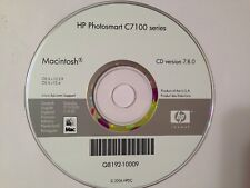 HP Photosmart C7100 Series MAC install disc.