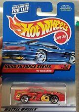 2000 Hot Wheels #34 Kung Fu Force '99 Mustang