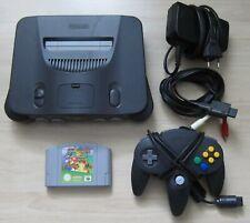 Nintendo 64 Spiele Konsole und Super Mario 64 Spiel + original Controller