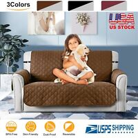 Seater Sofa Cover Chair Couch Loveseat Slipcover Pet Dog Kid Mat Water-Resistan