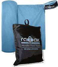 Raqpak Microfibre Towel For Travel, Beach, Bath, Gym-60x30 inches XL But Compact