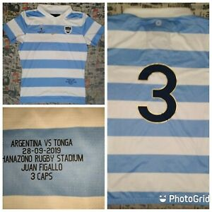 NIKE Argentina Rugby Home Jersey Los Pumas World Cup 2019 size XXL