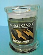 Yankee Candle Camouflage 8 oz. Tumbler Collector's Edition Retired Scent