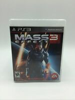 Mass Effect 3 (Sony PlayStation 3, 2012) Complete Tested