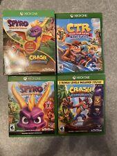 Spyro Reignited, CTR Crash Team Racing, And Crash Bandicoot N Sane Xbox one