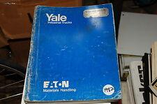 Yale Modell NS Schmal Aisle Gabelstapler Teile Manuell Buch Katalog Ersatz