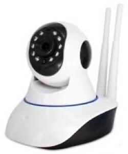 HD Wifi / IP Home & Office Security Camera, Pan Tilt Wireless, Night Vision, Plu