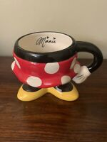 Minnie Mouse Skirt Mug Disney Parks Ceramic Authentic Original Polka Dot Mug