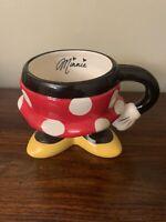 Minnie Mouse Skirt Mug Disney Parks Ceramic Authentic Original Polka Dot Mug