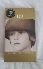 U2 Best Of 1980-1990 VHS With 4 Ltd Edition Postcards  PAL format.
