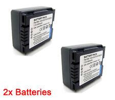 2x Battery for Panasonic NV-GS230 NV-GS250 NV-GS258 NV-GS280 NV-GS300 NV-GS320