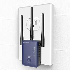 Coredy E750 Mini WiFi Dual Band Ac750 Range Extender Access Point Router ~Defect
