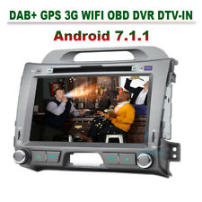 Android 7.1 GPS Autoradio KIA Sportage DAB+ CD Bluetooth MP3 USB Wifi DVR DTV-IN