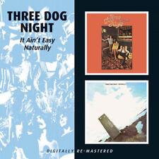 Three Dog Night : It Ain't Easy/naturally CD (2010) ***NEW***
