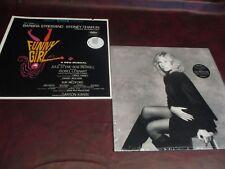 BARBRA STREISAND FUNNY GIRL & Till I Loved You CBS RECORDS STEREO VINYL LP SET
