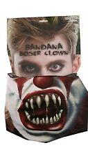 Bandana Böser Clown Schlauchtuch Schal Tube Halstuch Evil Clown One Size