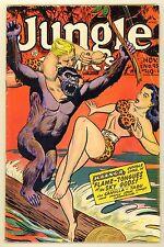 JUNGLE COMICS #95 (1947) VG/FN (5.0) ~ FICTION HOUSE ~ KAANGA ~ JUNGLE COMIC