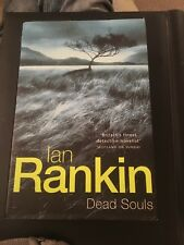 "First Edition Ian Rankin ""Dead Souls"""
