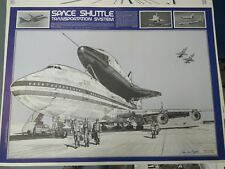 Space Shuttle Transportation System art print Jean-Luc Beghin 1977