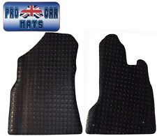 Citroen Berlingo Van (2008-Date) New Black Penny Rubber Tailored Car Floor Mats