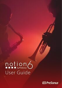 PresonusNotion 6 Music Notation Software for Mac PC Mobile eDelivery  NEW