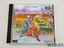 Ninja Warriors Sega MegaCD Japanese Import Mega Drive CD JP Japan US Seller B