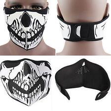 Punk Skull Neoprene Half Face Mask Ski Skate Snowboard Motorcycle Protection  BD