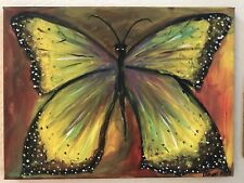 MONARCH, butterfly, nature, art, original painting, modern, decoration